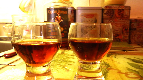 Rum and Glue Balls