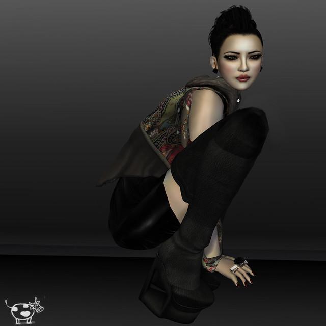Leezu Tasia times square boot, lwl street mini miamai syle