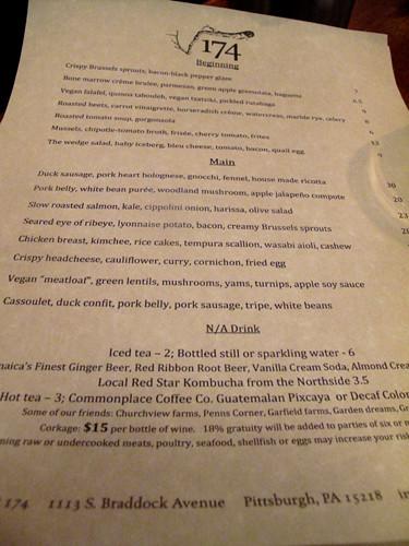 Restaurant Week - Dinner at Root 174