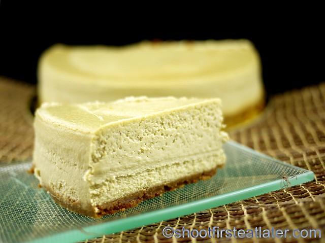 Green Tea Cheesecake - Cheesecakes by Guy-002