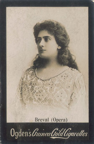 Lucienne Bréval.