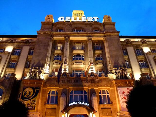 Budapest - jour 2 - 56 - Gellért Gyógyfürdő és Uszoda (Etablissements thermaux Gellért)