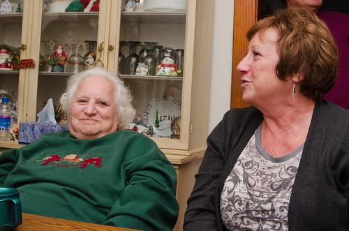 Great-Grandma and Grandma