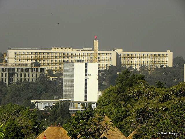 The Addis Ababa skyline, Ethiopia