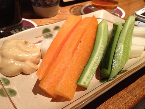 野菜スティック@原宿タップルーム