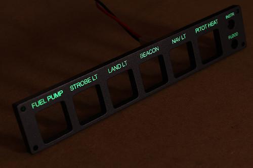 RV-7 Instrument Switch Panel - WEB 03