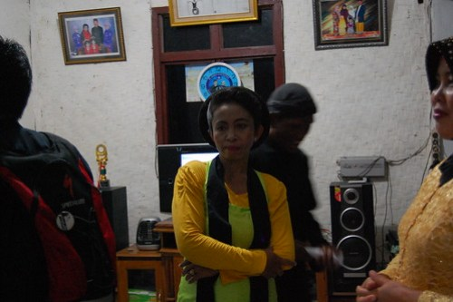 "Dancer of ""Ronggeng Gunung"""