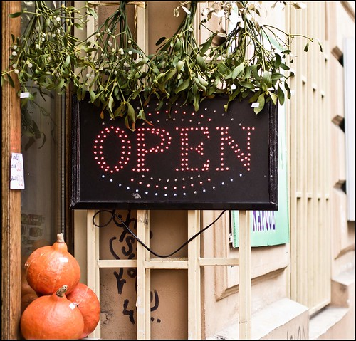 Prag / geöffnet / open