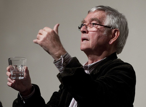 Quartet Q&Quartet Q&A - Tom Courtenay at Cornerhouse, by Paul Greenwood  04