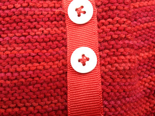 Backing Buttons and Grosgrain Ribbon