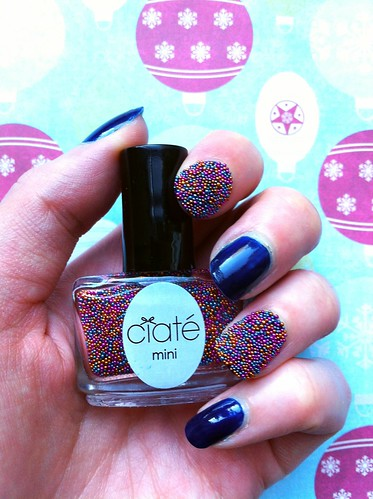 Mini Mani Month Ciate Pearls bottle