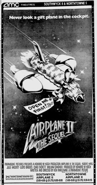 Airplane II ad 2
