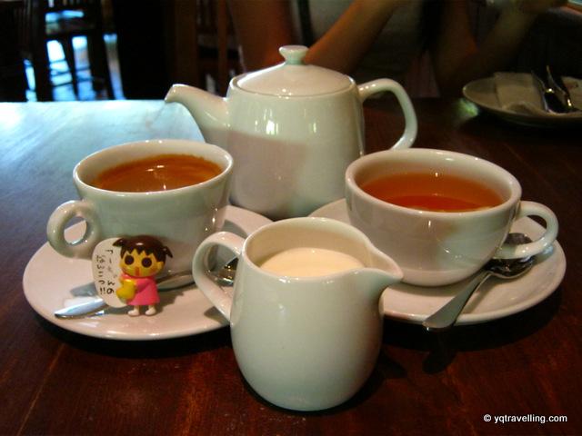 Choice of coffee or tea
