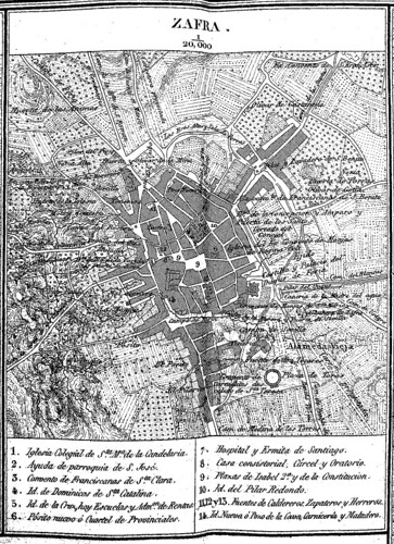 Zafra(19c)plano(map)