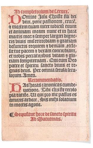 Biblia de las 42 líneas de Gutenberg.