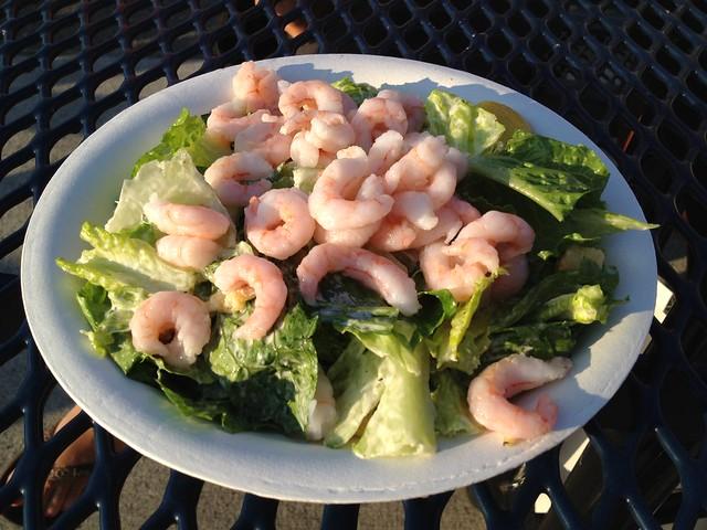 Shrimp caesar salad - Shilshole Bay Marina