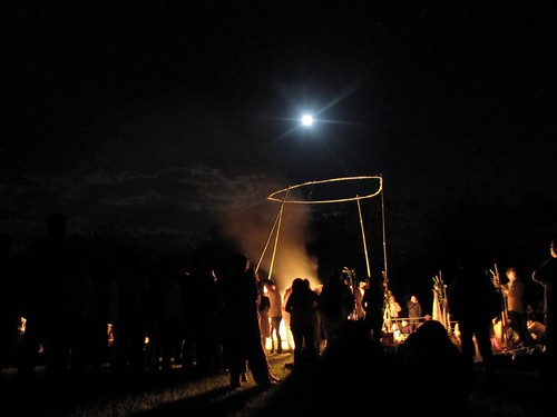 Fuego sagrado y luna