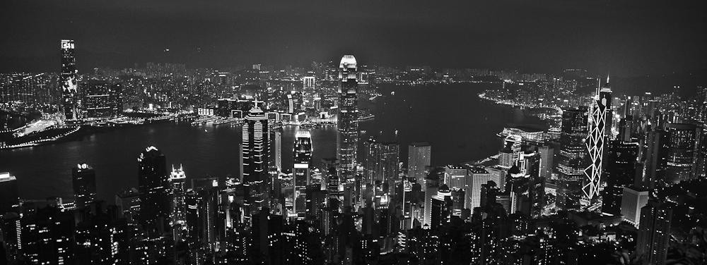 Hong Kong Black and White