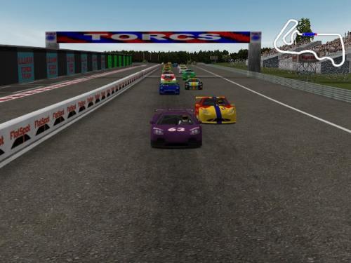 fotos de carrera dentro del juego