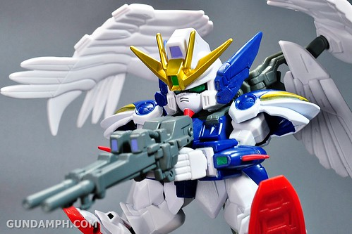 SDGO Wing Gundam Zero Endless Waltz Toy Figure Unboxing Review (36)