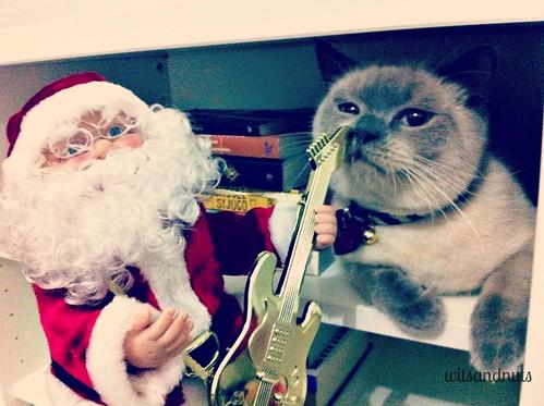 Santa and Winello