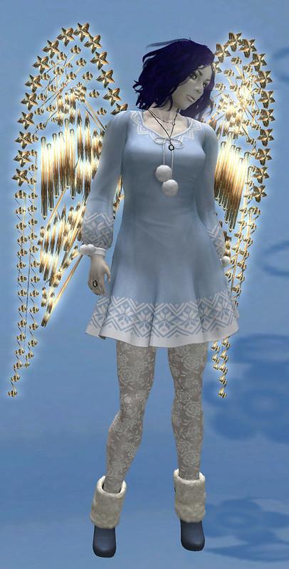 New Year Angel