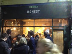 Honest Burgers. Brixton Village Market. Brixton, Southwest London, SW2, SW9