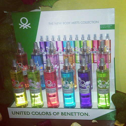 The New Benetton Body Mists Collection