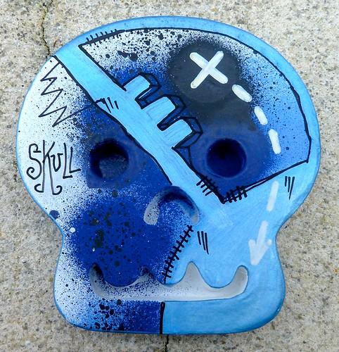 Skull // Paris, 2012 by Pegasus & Co