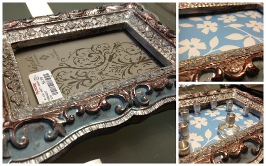 Picture Frame Menorah