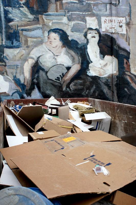 Impressionist trash