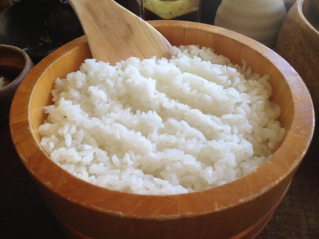 Steamed rice - Kimukatsu