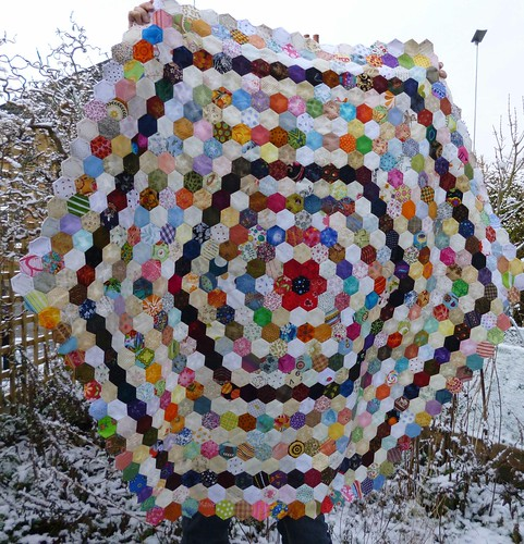 hexies in the snow - 14 Jan 2013