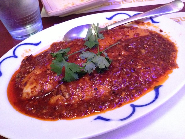 Spicy fish - Burmese Kitchen