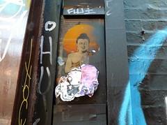 Street buddha