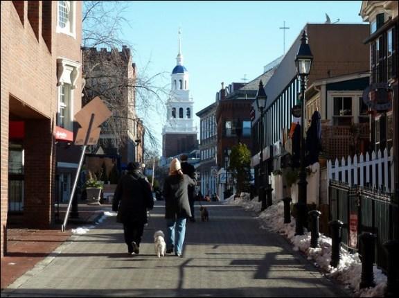 Winthrop St, Harvard Square