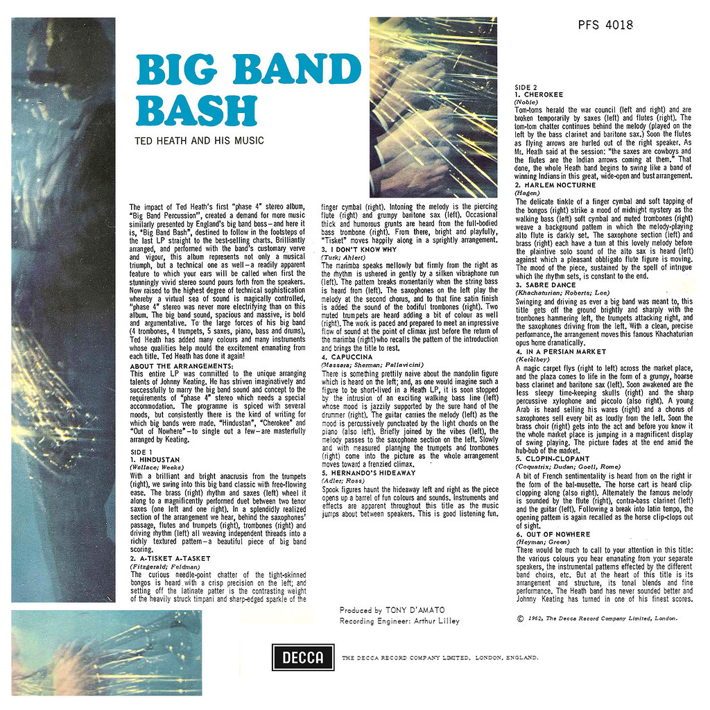 Ted Heath - Big Band Bash