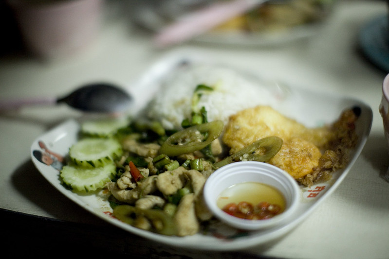 dinner on the train