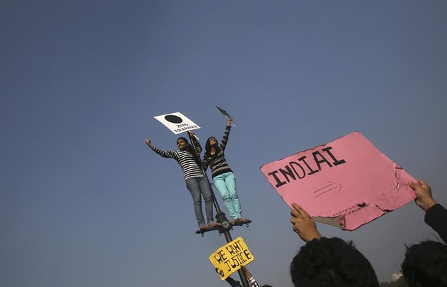 Delhi Gang-rape protest pictures (9)