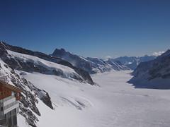 Aletsch Glacier from Jungfraujoch