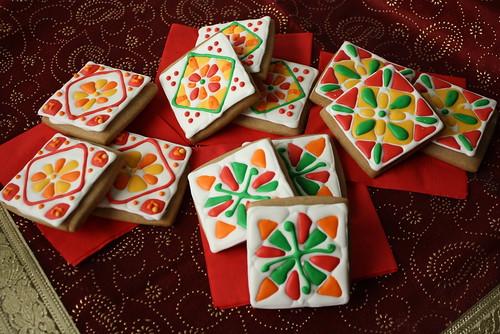 2012 11 Diwali Rangoli Cookies (3)