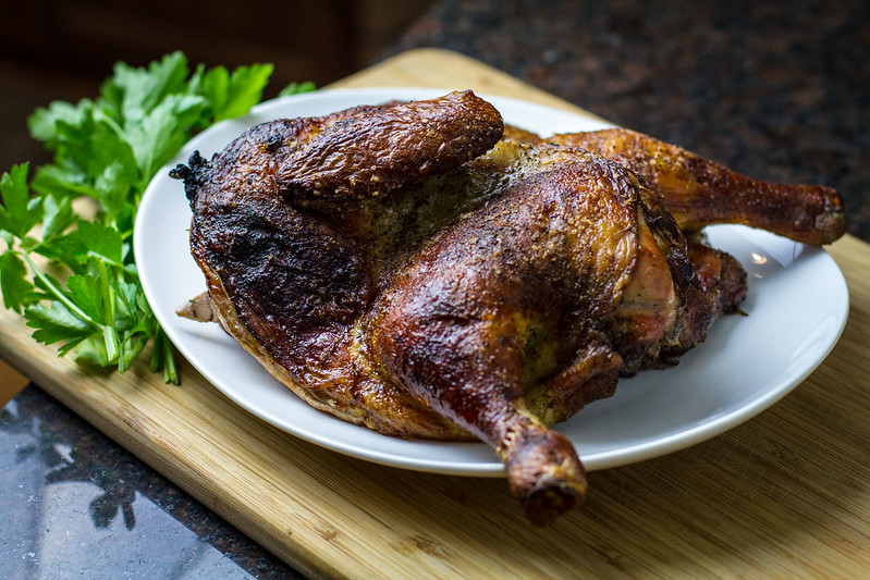 Piri-Piri Chicken with Mediterranean Roasted Vegetables | UK Lifestyle Blog