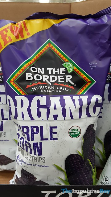 On The Border Organic Purple Corn Tortilla Strips