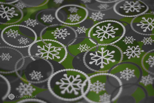 "10. ""Wrapping Paper"" Green Flakes by courtneyec90"