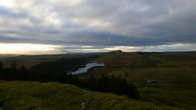 Hadrians Wall, Crag Lough, Hotbank Crags