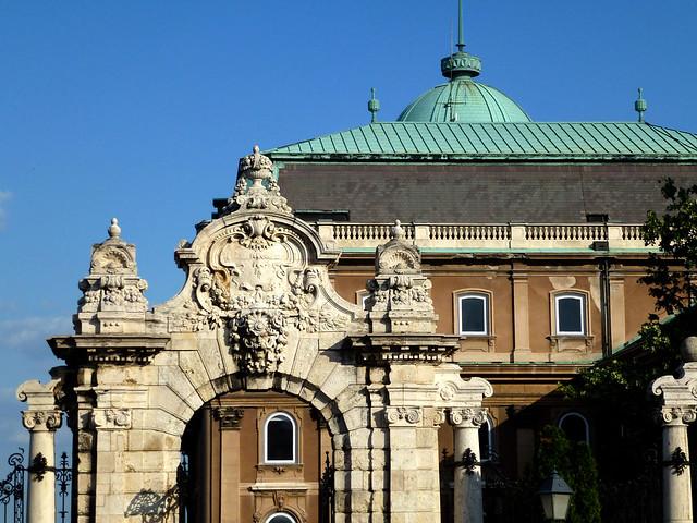 Budapest - jour 1 - 54 - Budai Vár (Château de Buda)