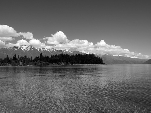 Homage to Ansel Adams - Queenstown, NZ