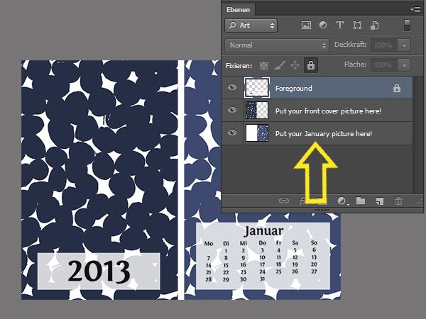diy Calendar for 2013