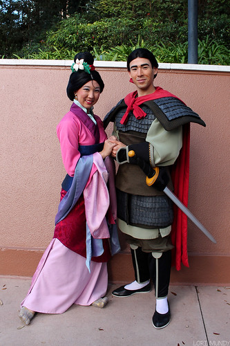 mulan and shang disney world images pictures becuo