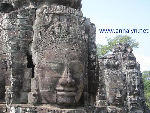 bayon temple - faces
